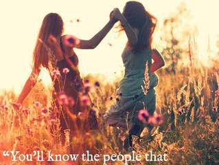 Make more time to be around people who make you feel special and loved