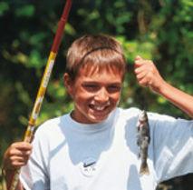 stage de pêche enfant