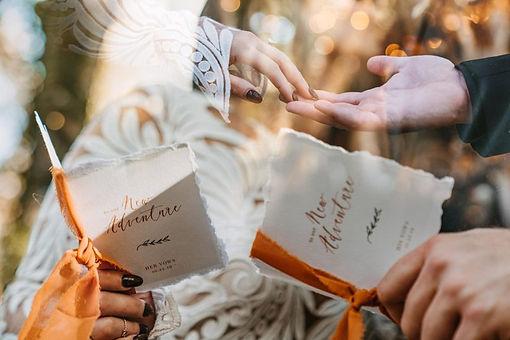 double-exposure-photo-of-wedding-details