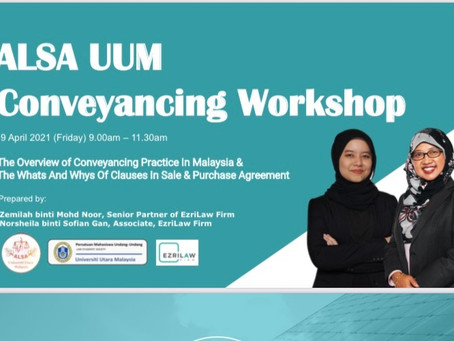 ALSA UUM Conveyancing Workshop