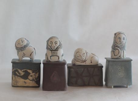 Работы сибирских керамистов (пленэр-2016)