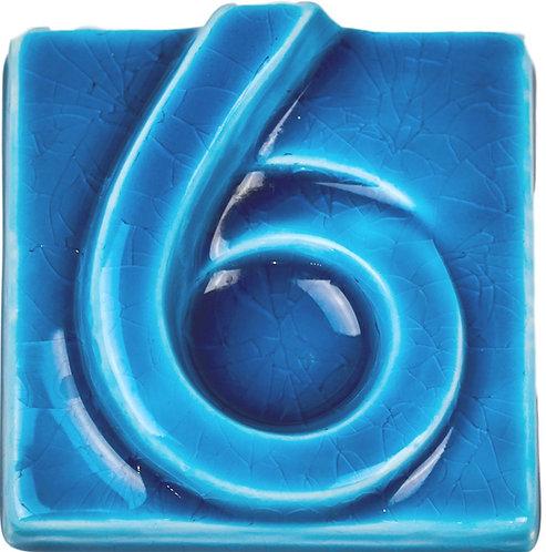 Глазурь Голубая Кракле S-0109-05