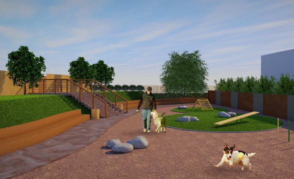 2017 / Эскиз площадки для собак