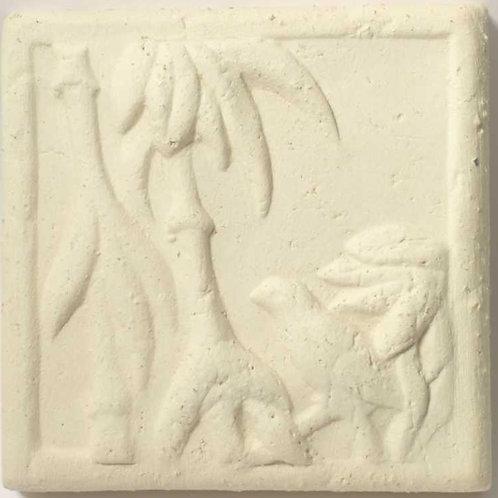 Шамотная масса Белая 1150-1250°с (5 кг)