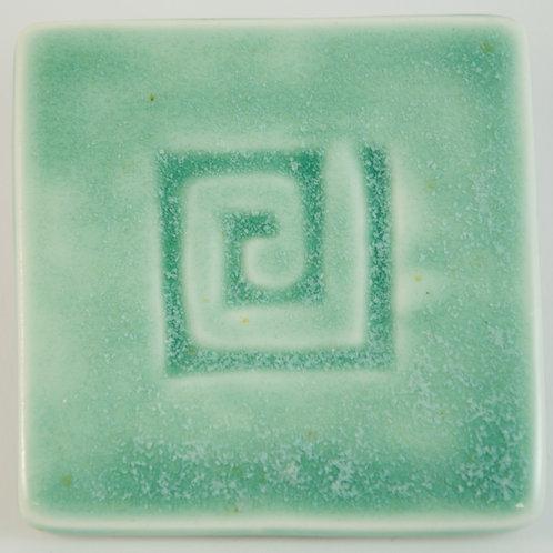 "Глазурь эффектарная высокотемпературная ""Зеленые кристаллы"""