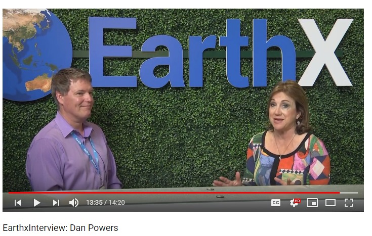 Dan Powers 2019 EarthX interview