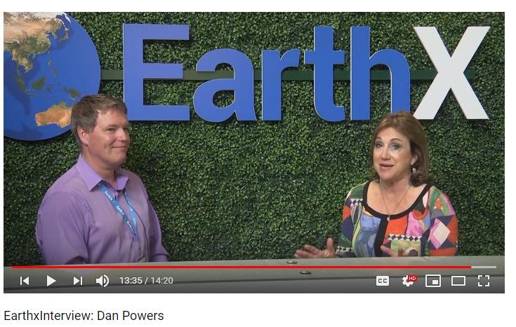 Dan Powers 2019 EarthX interview