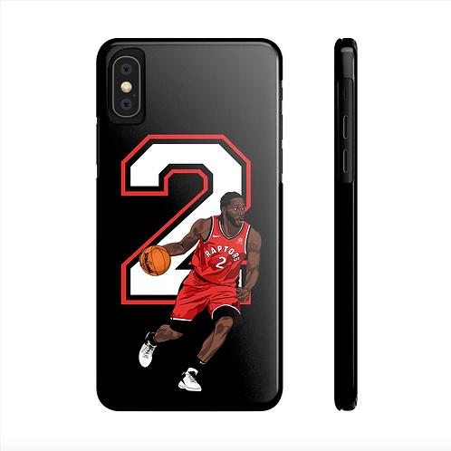 Kawhi Leonard Slim iPhone Case