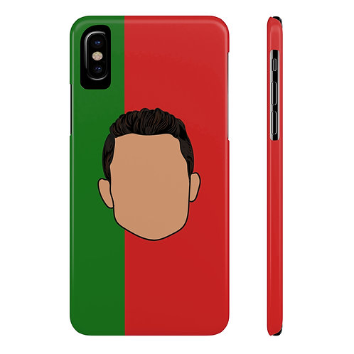 Ronaldo for Portugal Phone Case for iPhone X and Samsung Galaxy S9