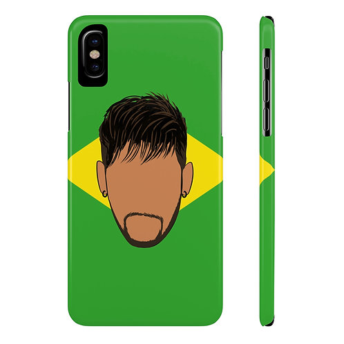 Neymar for Brazil Phone Case for iPhone X and Samsung Galaxy S9