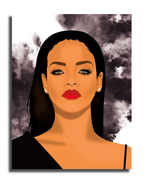 Rihanna Illustration