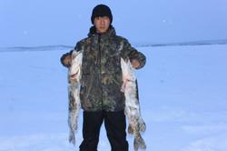 Fishing on the lake Alysardaah