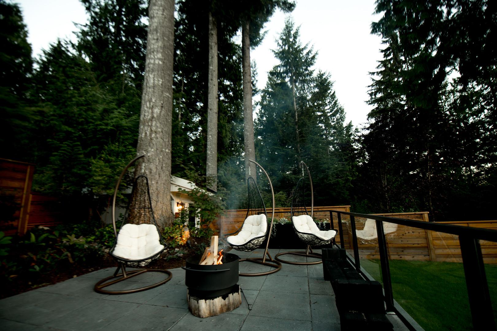 Hodge Squamish Renovation Sitting Area