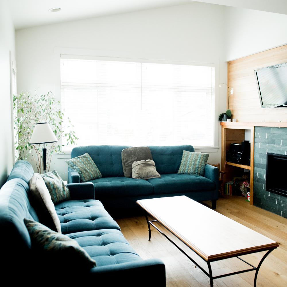 Living Room Saindon Renovation Squamish.