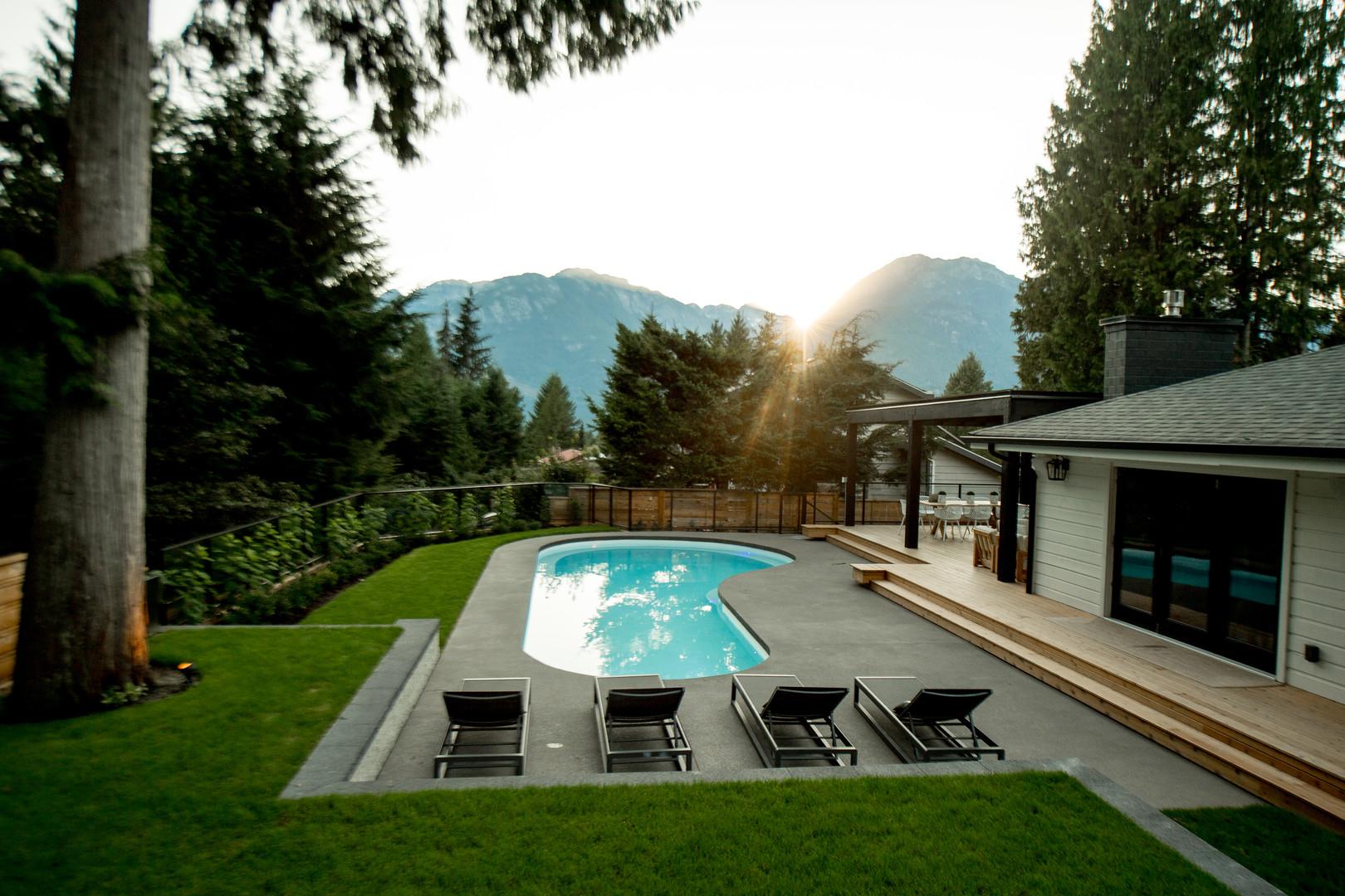 Hodge Squamish Renovation Pool