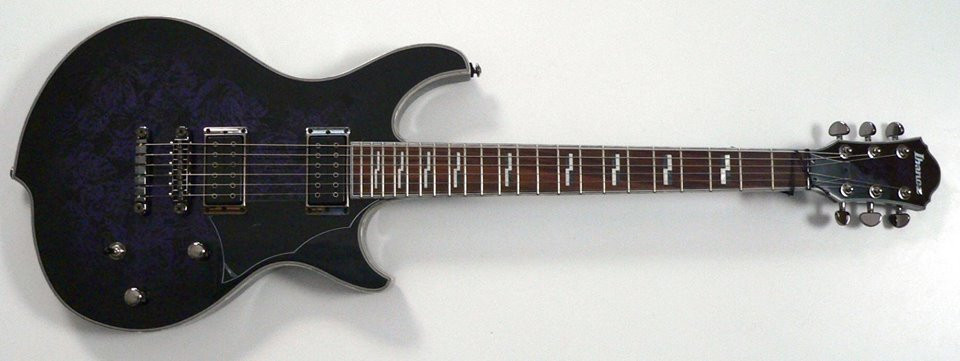 The Ibanez Guitar I crafted my Sound
