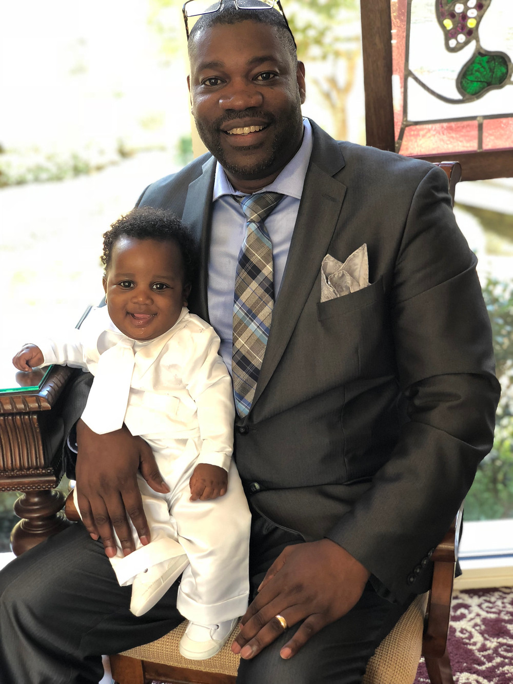 Introducing my son Israel Kukiriza Nkugwa the 3rd