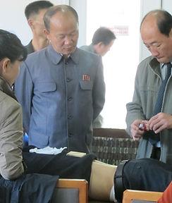 moxafrica team teaching how to moxa in DPRK