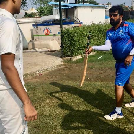 High Performance camp at KRISHU's Crickingdom's Cricket Academy