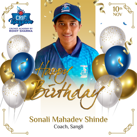 Many Happy Returns of the day Sonali Mahadev Shinde