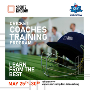 Cricket Coaches Training Program May