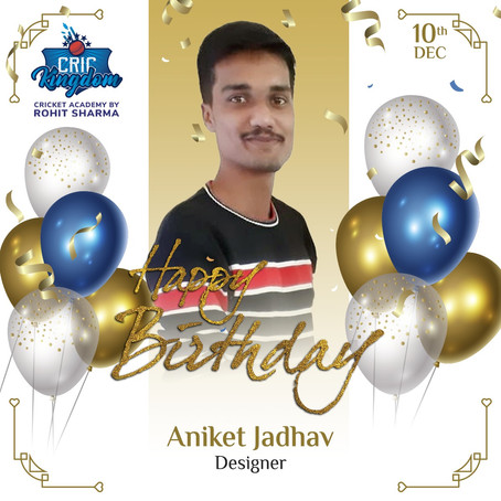 Happy Birthday Aniket