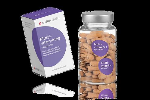 Magnésium Vitamines naturelles NutraSwiss