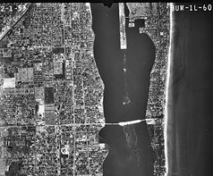 Aerial photograph from Palm Beach County