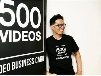 양성호 500비디오스 대표, 배달의 민족과 손잡고 소상공인 동영상 CF제작