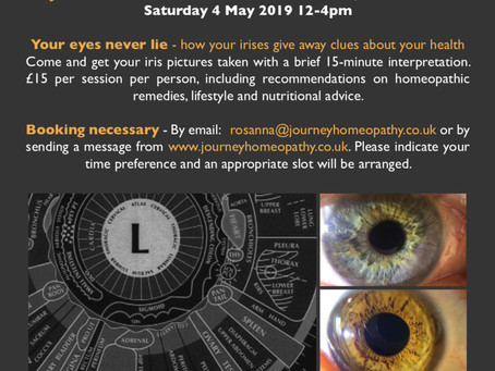 2019 May event - your irises never lie