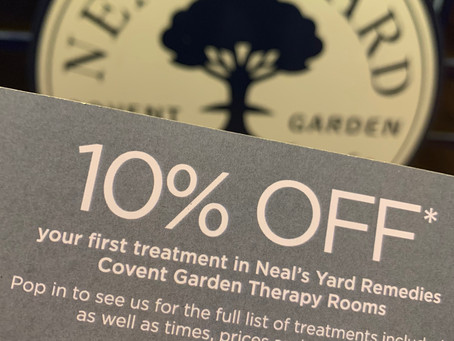 Neal's Yard & redemption offer