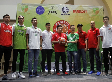 Launching Tim Pacific Caesar Surabaya (IBL 2017-2018)