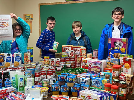 ignite group food collection.jpg