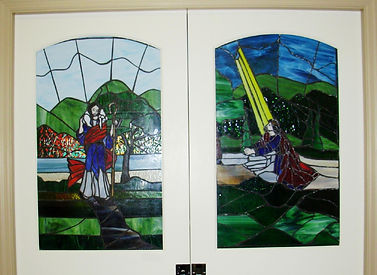 Stained Glass Windows of the Sliding Doors