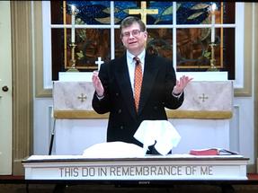 Pastor Fisher - Communion