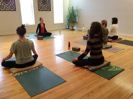 non profit meditation yoga class
