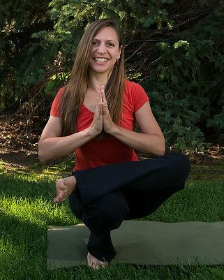 Tip Toe yoga pose teacher training