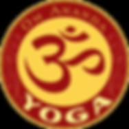 Logo Om Ananda Yoga studio fort collins