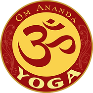 Logo Om Ananda Yoga studio fort collins