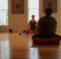 prenatal private yoga lesson