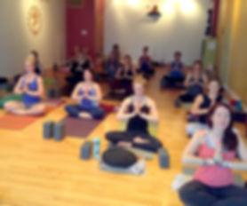 Shambhava yoga meditation class