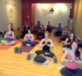 Meditation class 300 hour yoga teacher training