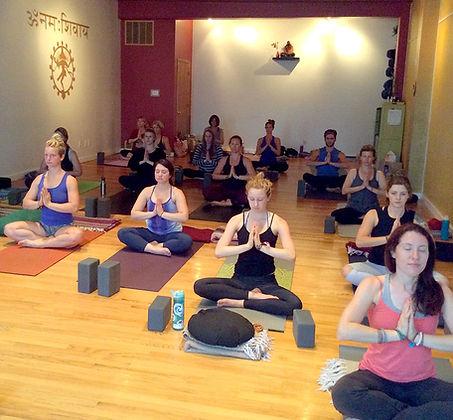Meditation class 300 hour yoga teacher training