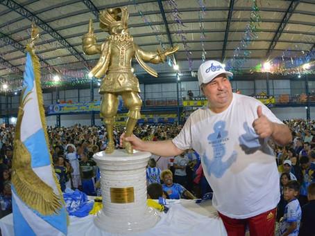 Carnaval 2020 da Águia de Ouro e a parceria com a Lei de Incentivo a Cultura de SP.