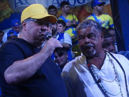 'Time mais forte do Carnaval de São Paulo': Presidente da Águia de Ouro exalta Laíla e comunidade.