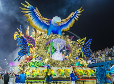Águia de Ouro é a grande campeã do Carnaval 2020 em São Paulo