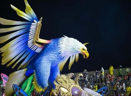 Águia de Ouro é a grande campeã do Grupo Especial do Carnaval de SP