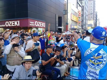 Águia de Ouro realiza intercâmbio cultural no Japão