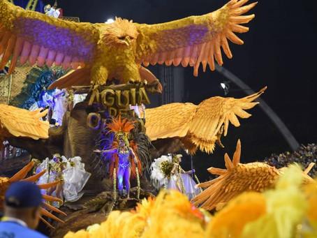 'Meu Deus escute a Águia cantar': relembre o desfile da Águia de Ouro