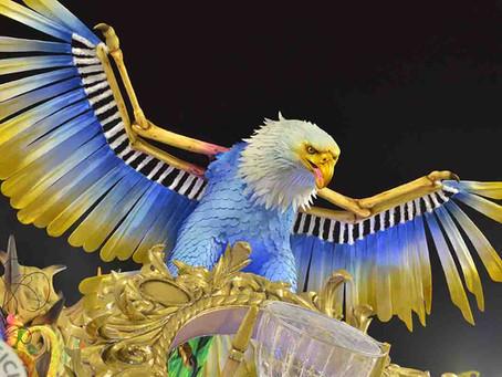 Águia de Ouro é a grande campeã do Carnaval SP 2020